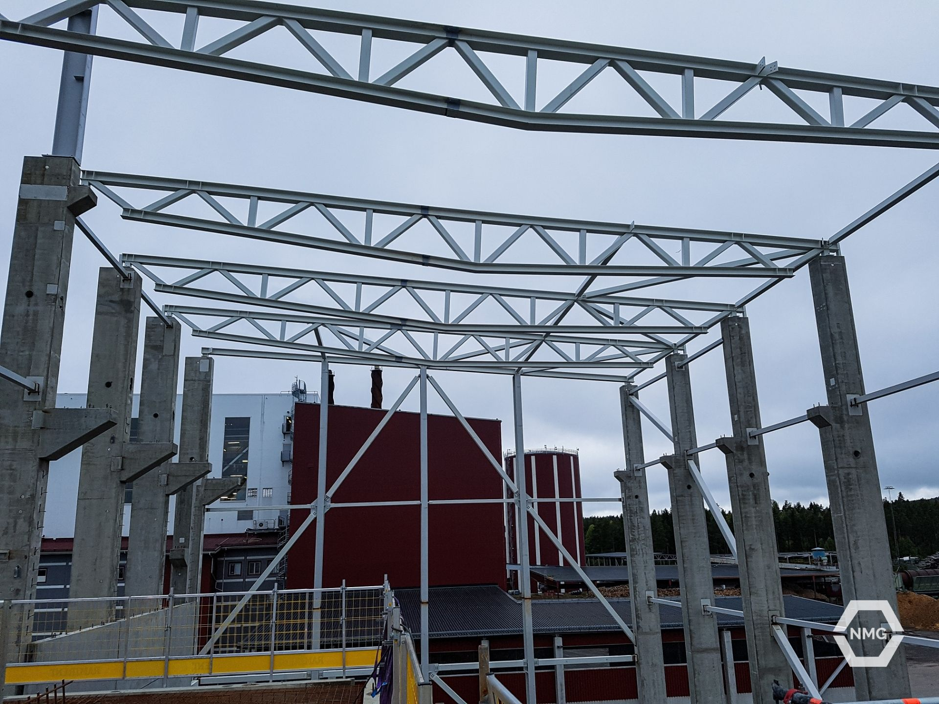 Nordic Montage services steel construction metal assembly